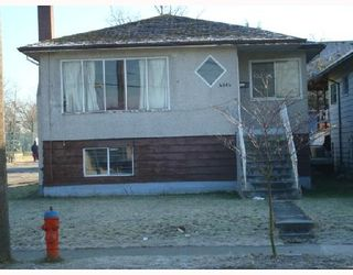 Photo 1: 4804 SLOCAN Street in Vancouver: Collingwood VE House for sale (Vancouver East)  : MLS®# V685694