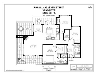 """Photo 20: 411 2628 YEW Street in Vancouver: Kitsilano Condo for sale in """"Connaught Place"""" (Vancouver West)  : MLS®# R2377344"""