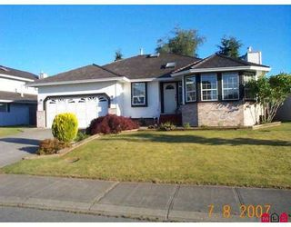 """Photo 1: 32368 SLOCAN Drive in Abbotsford: Abbotsford West House for sale in """"Fairfield Estates"""" : MLS®# F2718068"""