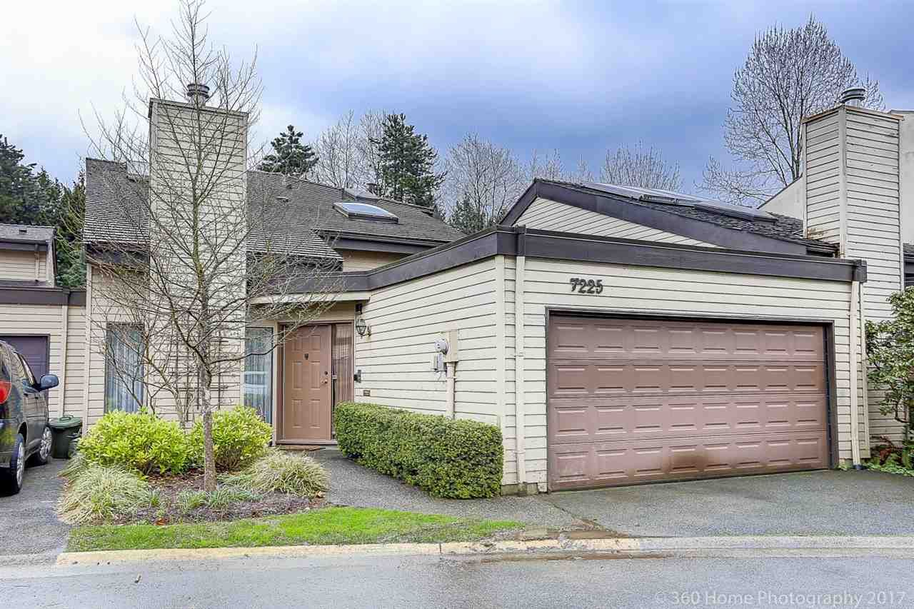 """Main Photo: 7225 QUATSINO Drive in Vancouver: Champlain Heights Townhouse for sale in """"SOLAR WEST"""" (Vancouver East)  : MLS®# R2155703"""