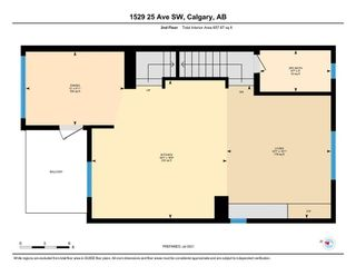 Photo 34: 1529 25 Avenue SW in Calgary: Bankview Row/Townhouse for sale : MLS®# A1127936