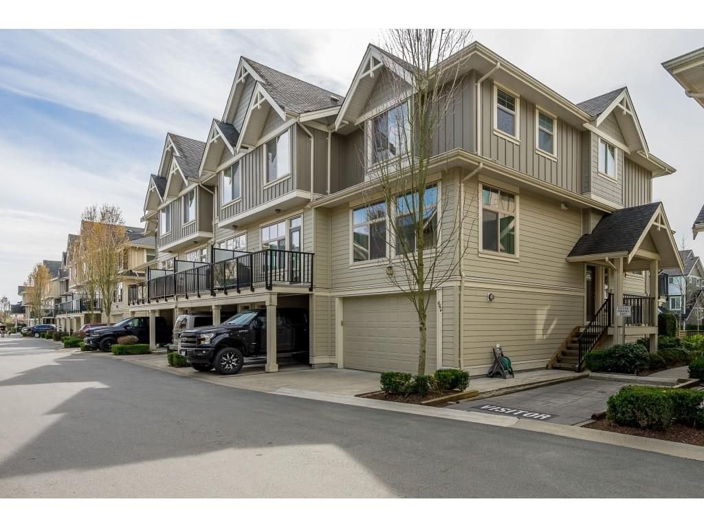 """Main Photo: 52 19525 73 Avenue in Surrey: Clayton Townhouse for sale in """"Up Town 2"""" (Cloverdale)  : MLS®# R2354374"""