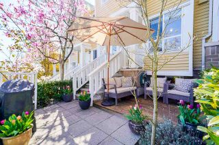 """Photo 2: 8435 JELLICOE Street in Vancouver: South Marine Townhouse for sale in """"Fraserview Terrace"""" (Vancouver East)  : MLS®# R2570044"""