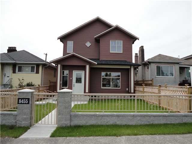 Main Photo: 8455 OAK Street in Vancouver: Marpole 1/2 Duplex for sale (Vancouver West)  : MLS®# V835242