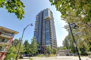 """Photo 1: 604 301 CAPILANO Road in Port Moody: Port Moody Centre Condo for sale in """"RESIDENCES AT SUTER BROOK"""" : MLS®# R2094618"""