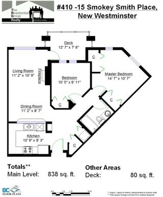 """Photo 15: 410 15 SMOKEY SMITH Place in New Westminster: GlenBrooke North Condo for sale in """"THE WESTERLY"""" : MLS®# R2046812"""