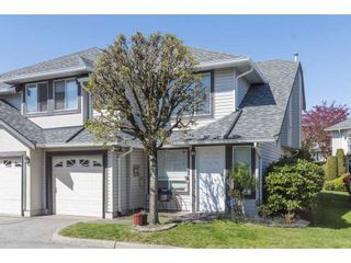"""Photo 1: 134 3160 TOWNLINE Road in Abbotsford: Abbotsford West Townhouse for sale in """"Southpointe Ridge"""" : MLS®# R2579507"""