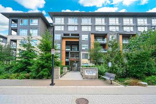 """Photo 2: 520 9168 SLOPES Mews in Burnaby: Simon Fraser Univer. Condo for sale in """"Veritas by Polygon"""" (Burnaby North)  : MLS®# R2600364"""