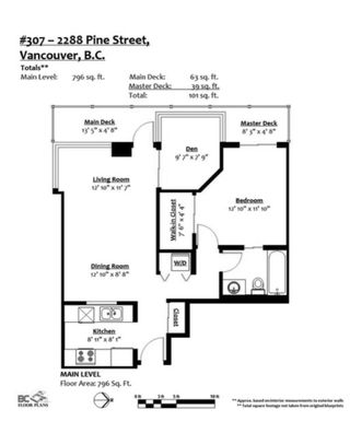 """Photo 4: 307 2288 PINE Street in Vancouver: Fairview VW Condo for sale in """"The Fairview"""" (Vancouver West)  : MLS®# R2617278"""