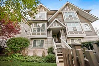 """Photo 1: 3357 DEVONSHIRE Avenue in Coquitlam: Burke Mountain Townhouse for sale in """"BELMONT PARK"""" : MLS®# R2570400"""