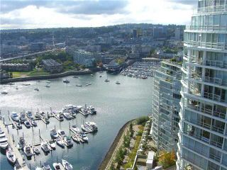 "Photo 8: 3306 1199 MARINASIDE Crescent in Vancouver: False Creek North Condo for sale in ""AQUARIUS 1"" (Vancouver West)  : MLS®# V836941"