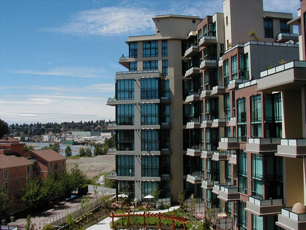 """Main Photo: # 405 10 RENAISSANCE SQ in New Westminster: Quay Condo for sale in """"MURANO LOFTS"""" : MLS®# V829905"""