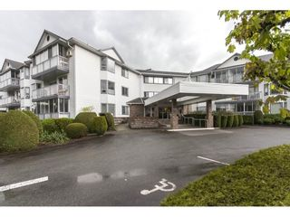 """Photo 1: 202 2425 CHURCH Street in Abbotsford: Abbotsford West Condo for sale in """"PARKVIEW PLACE"""" : MLS®# R2171357"""
