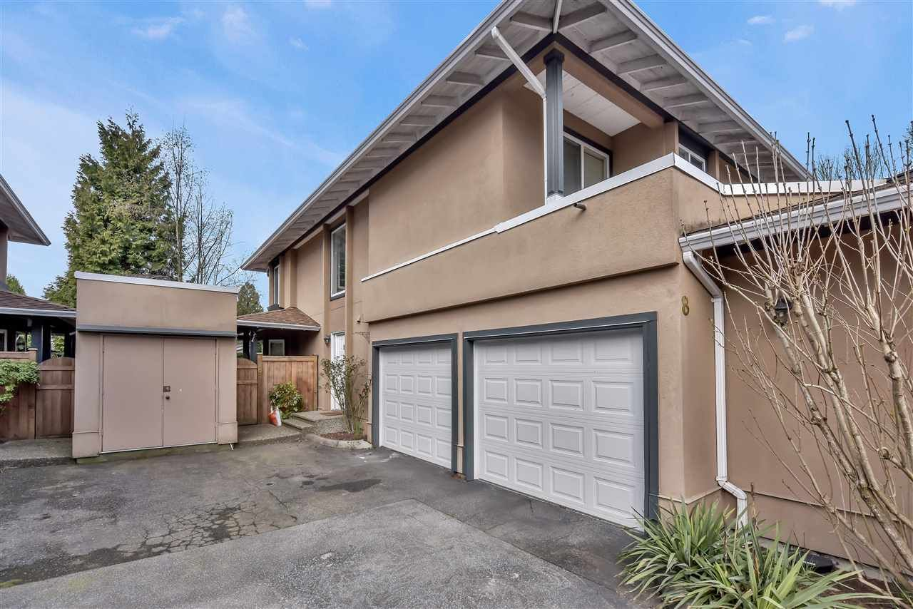 "Main Photo: 8 12267 190 Street in Pitt Meadows: Central Meadows Townhouse for sale in ""TWIN OAKS"" : MLS®# R2559171"