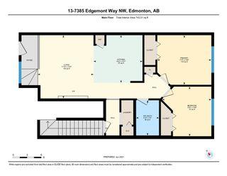 Photo 24: 13 7385 EDGEMONT Way in Edmonton: Zone 57 Townhouse for sale : MLS®# E4248926