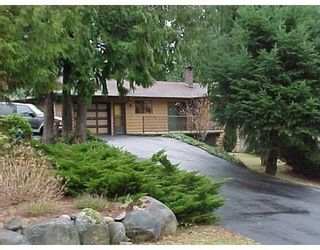 Photo 1: 8056 COOPER RD in Halfmoon Bay: House for sale : MLS®# V626860