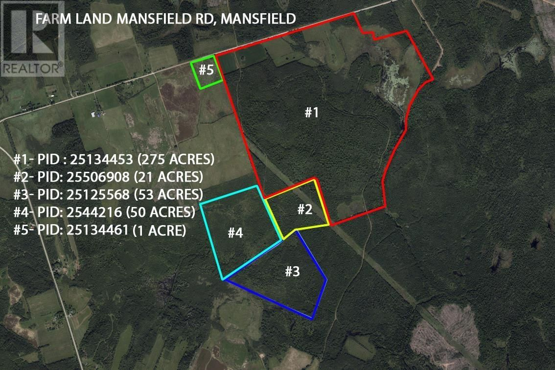 Main Photo: Farm Land Mansfield Road in Amherst: Agriculture for sale : MLS®# 202110746