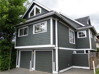 Photo 1: 1614 GRAVELEY Street in Vancouver: House for sale (Vancouver East)  : MLS®# V1065157