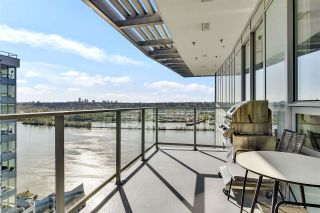 """Photo 1: 2802 988 QUAYSIDE Drive in New Westminster: Quay Condo for sale in """"RIVERSKY2 BY BOSA"""" : MLS®# R2569522"""