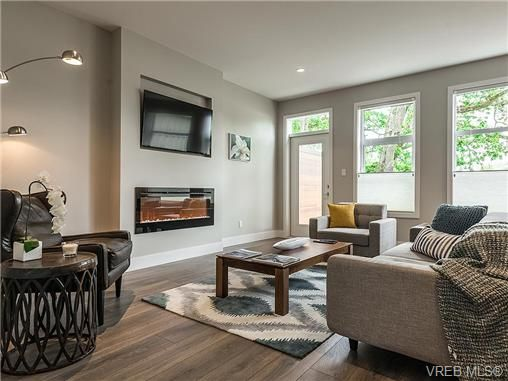 Main Photo: 2 3440 Linwood Ave in VICTORIA: SE Maplewood Row/Townhouse for sale (Saanich East)  : MLS®# 708010