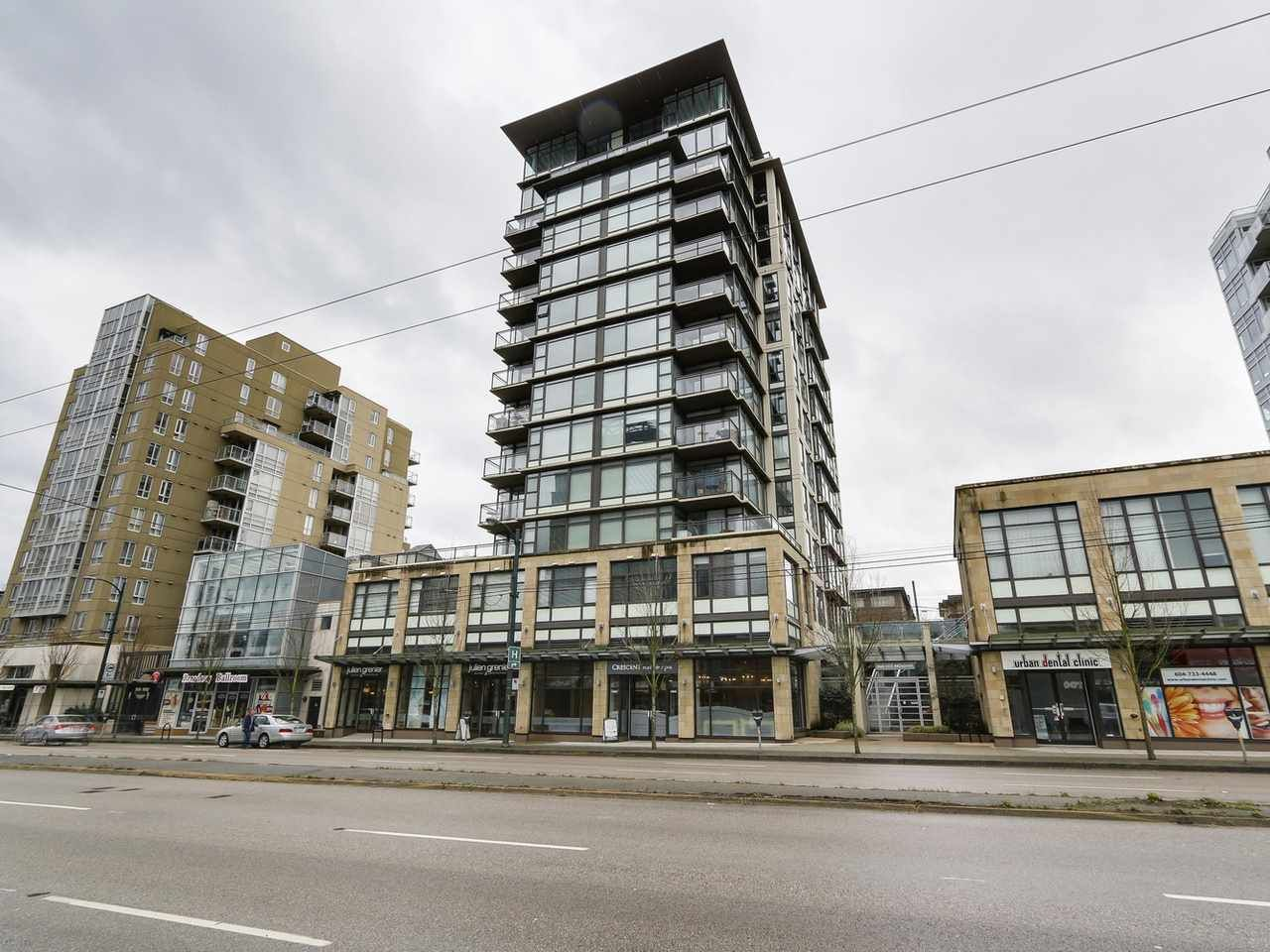 """Main Photo: 1001 1068 W BROADWAY in Vancouver: Fairview VW Condo for sale in """"The Zone"""" (Vancouver West)  : MLS®# R2148292"""