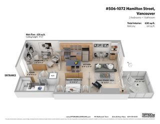 """Photo 29: 506 1072 HAMILTON Street in Vancouver: Yaletown Condo for sale in """"CRANDALL"""" (Vancouver West)  : MLS®# R2619002"""