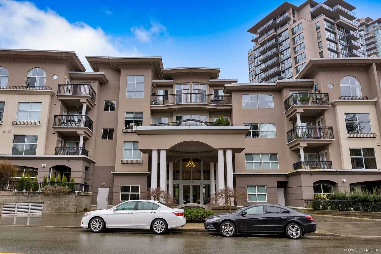 Main Photo: 104 1185 PACIFIC STREET in Coquitlam: North Coquitlam Townhouse for sale : MLS®# R2253631