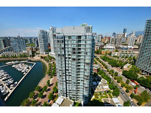 Main Photo: # 3708 1033 MARINASIDE CR in Vancouver: Yaletown Condo for sale (Vancouver West)  : MLS®# V1116535