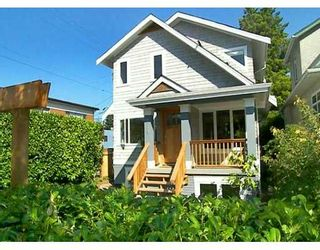 Photo 1: 719 E 28TH AV in Vancouver: Fraser VE House for sale (Vancouver East)  : MLS®# V609475