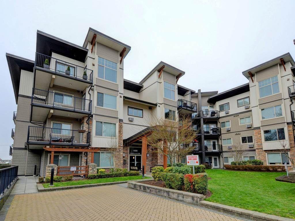 "Main Photo: 403 11935 BURNETT Street in Maple Ridge: East Central Condo for sale in ""KENSINGTON PARK"" : MLS®# R2249321"