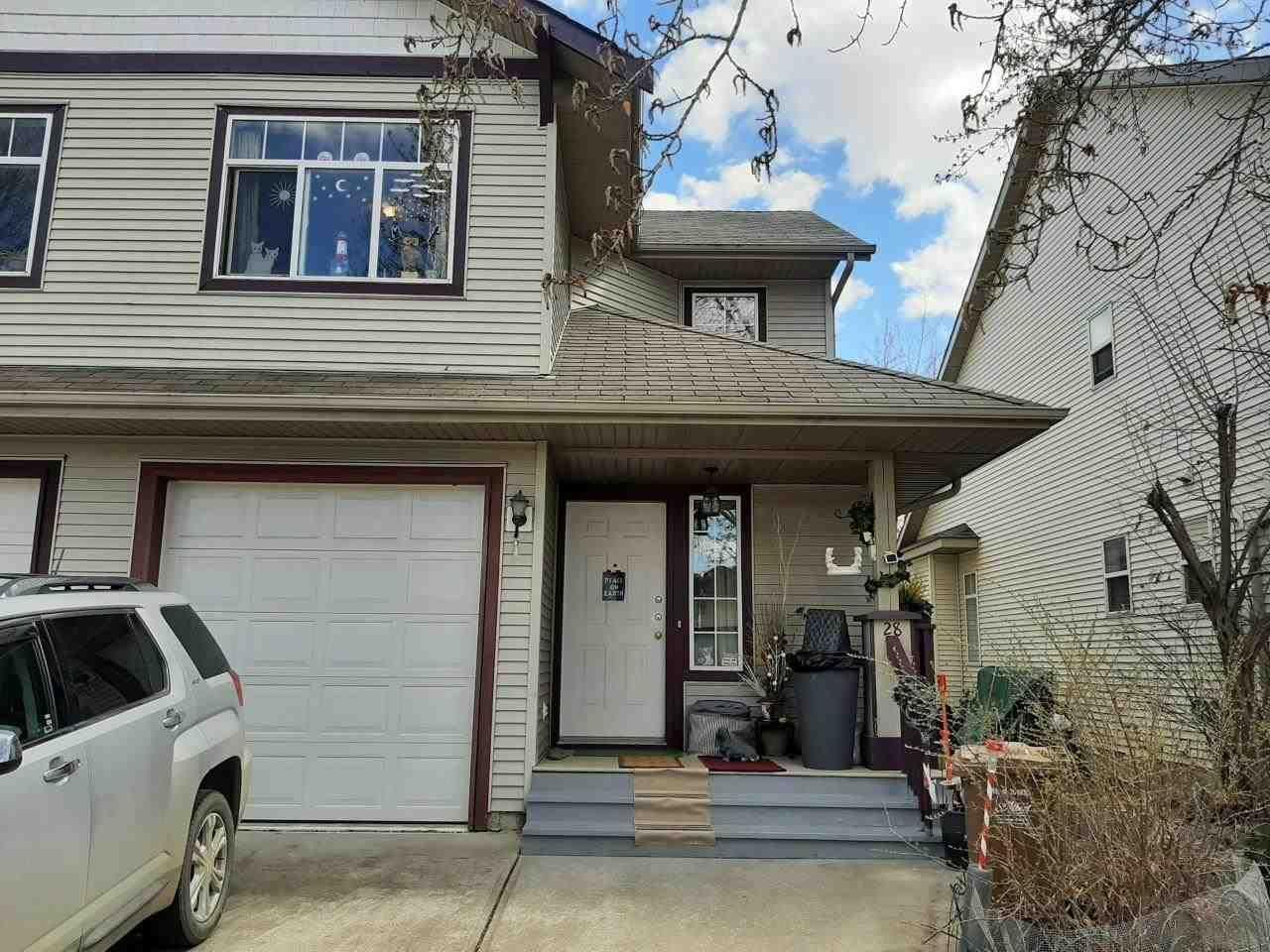 Main Photo: 28 13 HAWTHORNE Crescent: St. Albert House Half Duplex for sale : MLS®# E4241786