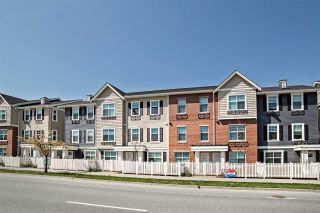 """Photo 1: 202 32789 BURTON Avenue in Mission: Mission BC Townhouse for sale in """"SILVER CREEK TOWNHOMES"""" : MLS®# R2261598"""