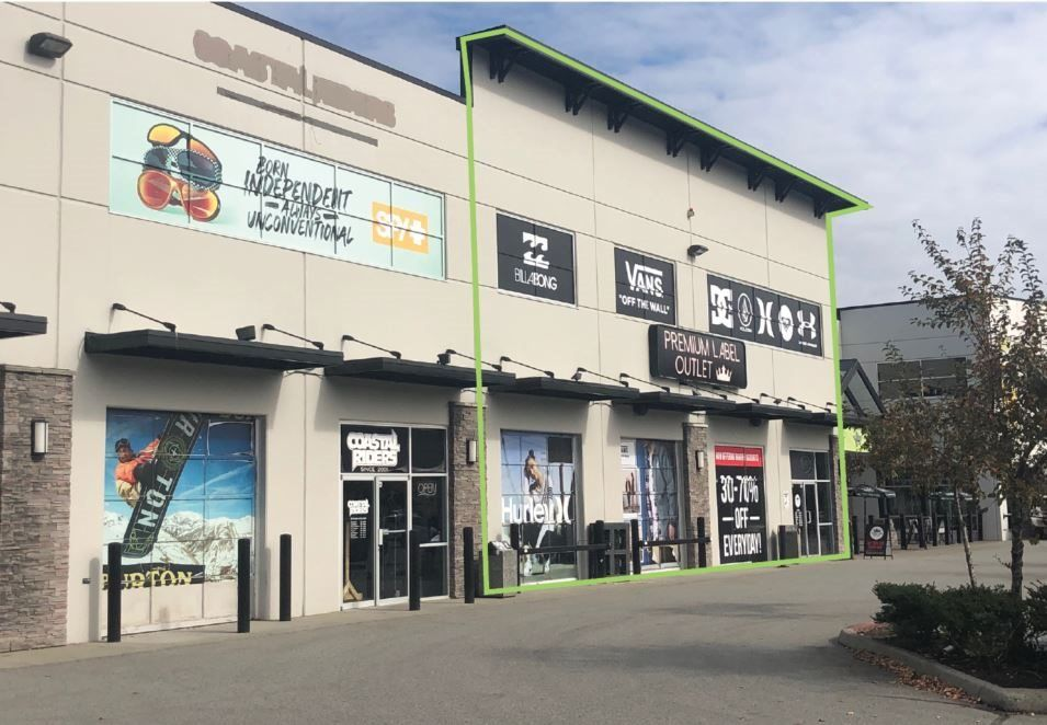 Main Photo: 103 8860 201 Street: Retail for lease in Langley: MLS®# C8034234