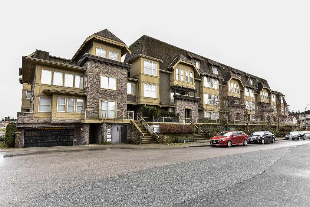 """Main Photo: 120 2108 ROWLAND Street in Port Coquitlam: Central Pt Coquitlam Condo for sale in """"AVIVA AT CENTRAL PARK"""" : MLS®# R2139039"""