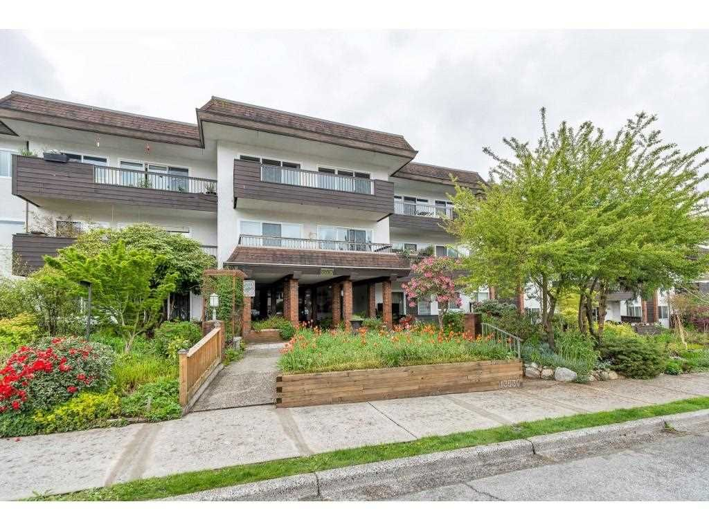 "Main Photo: 103 13530 HILTON Street in Surrey: Bolivar Heights Condo for sale in ""Hilton House"" (North Surrey)  : MLS®# R2572771"