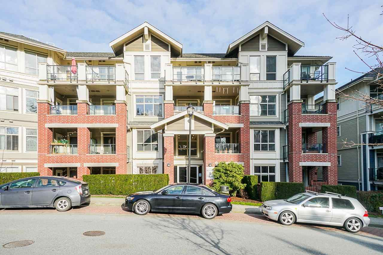 """Main Photo: 101 285 ROSS Drive in New Westminster: Fraserview NW Condo for sale in """"The Grove at Victoria Hill"""" : MLS®# R2552784"""
