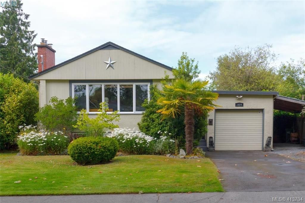 Main Photo: 1824 Chandler Ave in VICTORIA: Vi Fairfield East House for sale (Victoria)  : MLS®# 820459