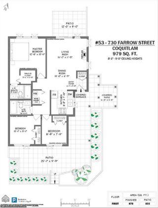 "Photo 21: 53 730 FARROW Street in Coquitlam: Coquitlam West Townhouse for sale in ""FARROW RIDGE"" : MLS®# R2549224"