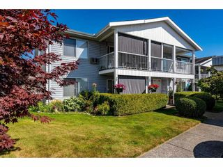 """Photo 1: 257 32691 GARIBALDI Drive in Abbotsford: Abbotsford West Townhouse for sale in """"Carriage Lane"""" : MLS®# R2479207"""