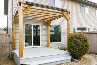 Photo 33: 13948 137 Street in Edmonton: Zone 27 House Half Duplex for sale : MLS®# E4235358