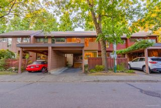 "Photo 1: 4849 FERNGLEN Drive in Burnaby: Greentree Village Townhouse for sale in ""GREENTREE VILLAGE"" (Burnaby South)  : MLS®# R2612306"