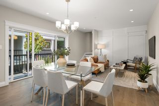 """Photo 1: 5860 ALMA Street in Vancouver: Southlands Townhouse for sale in """"ALMA HOUSE"""" (Vancouver West)  : MLS®# R2624433"""
