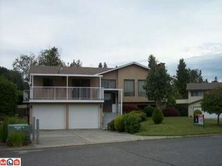 Photo 1: 32847 CAPILANO Place in Abbotsford: Central Abbotsford House for sale : MLS®# F1117897