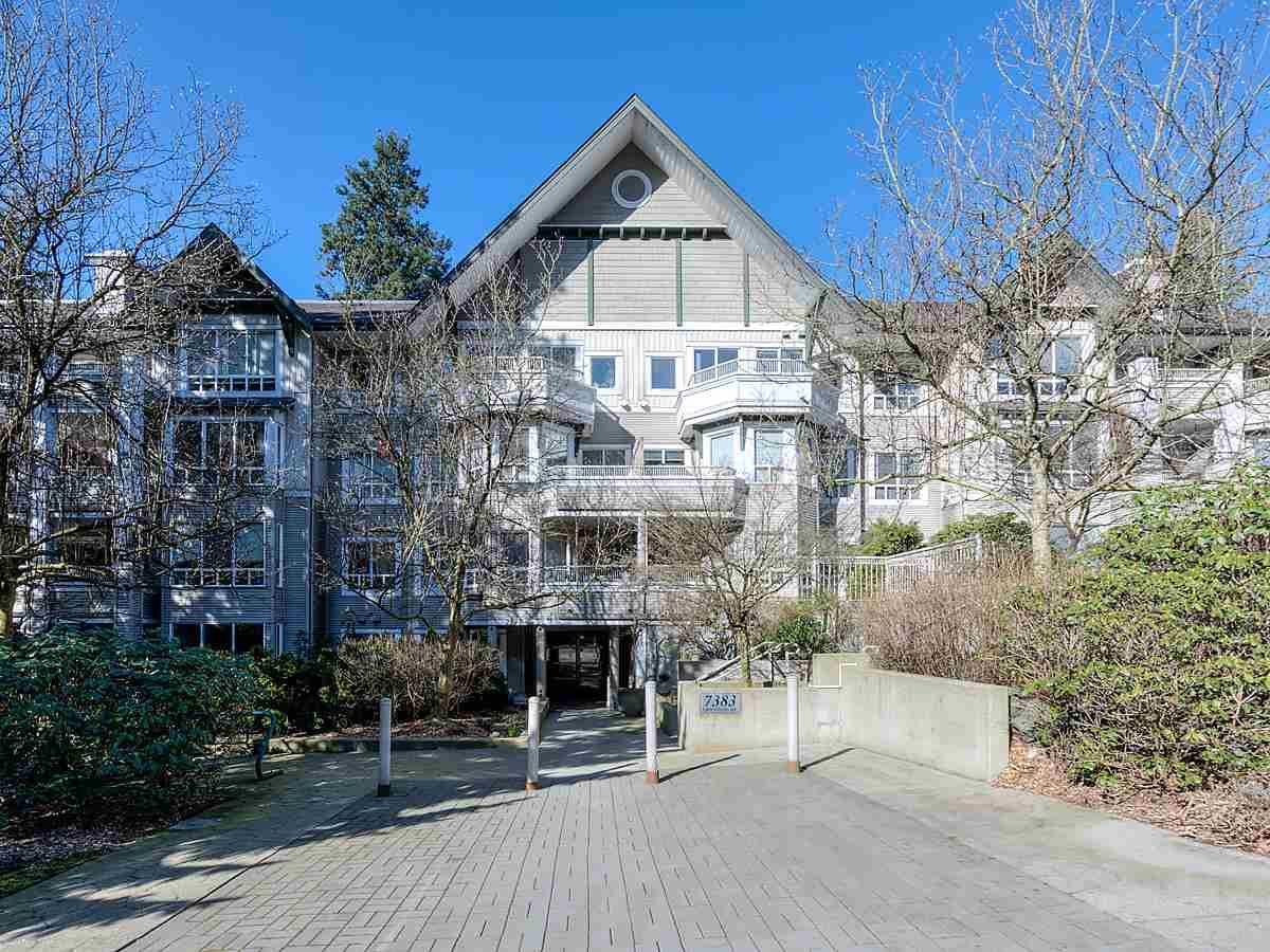 Main Photo: 205 7383 GRIFFITHS DRIVE in Burnaby: Highgate Condo for sale (Burnaby South)  : MLS®# R2447150