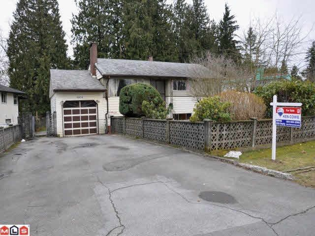 Main Photo: 12474 PARK DRIVE in : Cedar Hills House for sale : MLS®# F1105116
