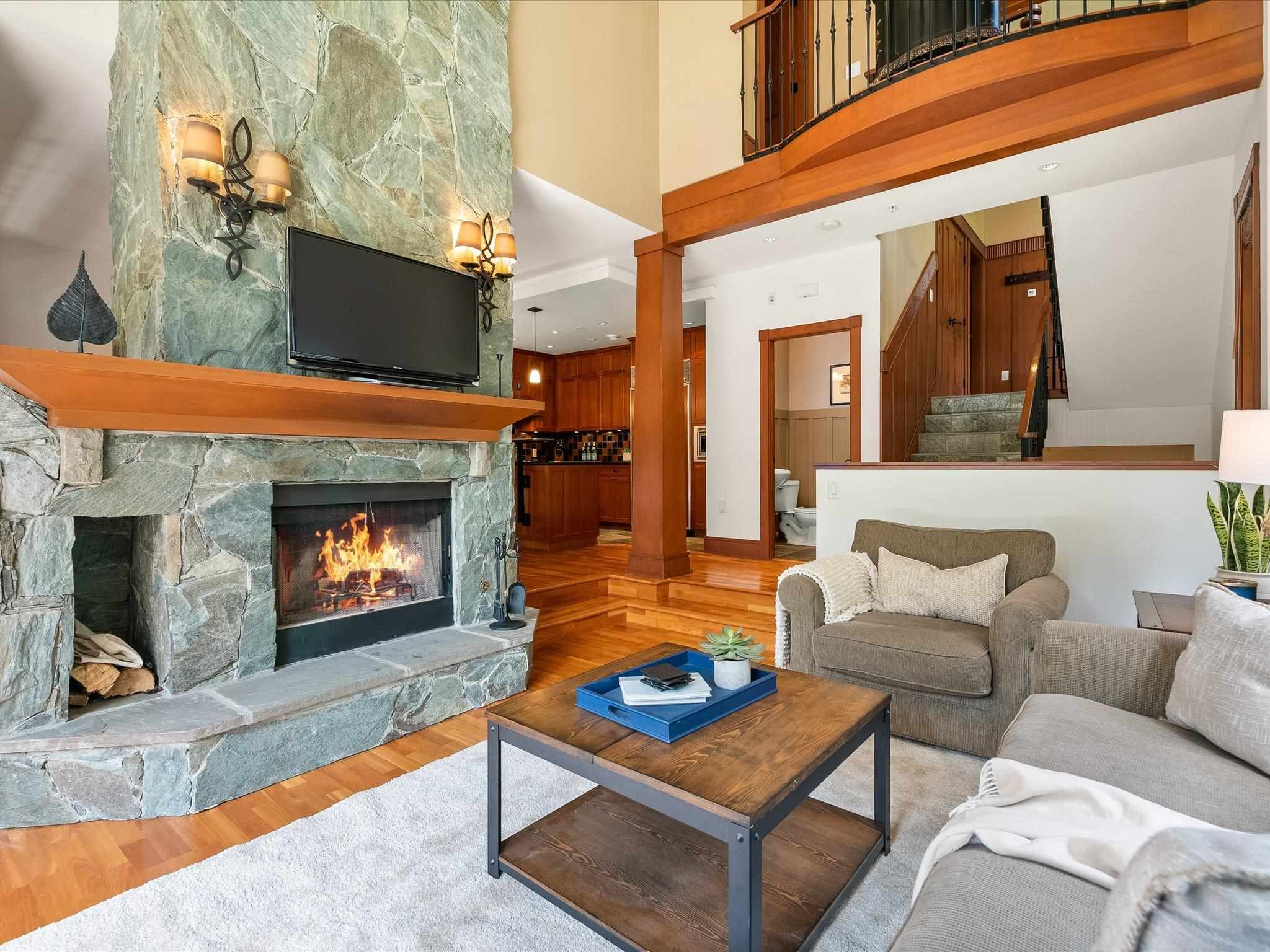 Photo 3: Photos: 4 2500 TALUSWOOD PLACE in Whistler: Nordic Townhouse for sale : MLS®# R2593995