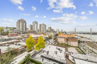 """Photo 1: 907 668 COLUMBIA Street in New Westminster: Quay Condo for sale in """"TRAPP + HOLBROOK"""" : MLS®# R2512551"""