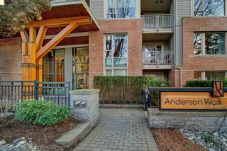 """Main Photo: 208 159 W 22ND Street in North Vancouver: Central Lonsdale Condo for sale in """"Anderson Walk"""" : MLS®# R2614688"""