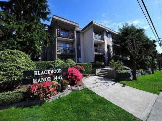"""Photo 1: 115 1442 BLACKWOOD Street: White Rock Condo for sale in """"Blackwood Manor"""" (South Surrey White Rock)  : MLS®# R2433629"""