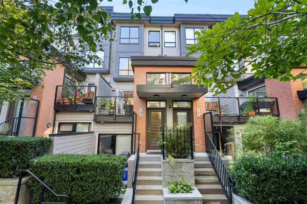 """Photo 2: Photos: 104 1855 STAINSBURY Avenue in Vancouver: Victoria VE Townhouse for sale in """"The Works"""" (Vancouver East)  : MLS®# R2494978"""